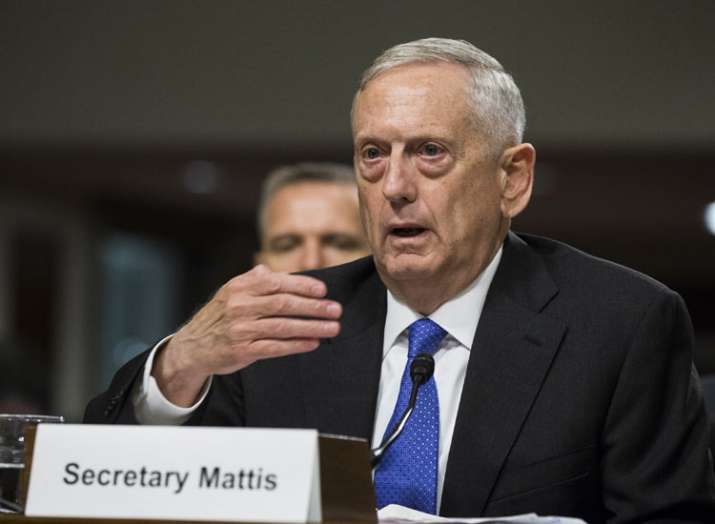 Mattis is invited by Chinese Defence Minister Wei Fenghe to