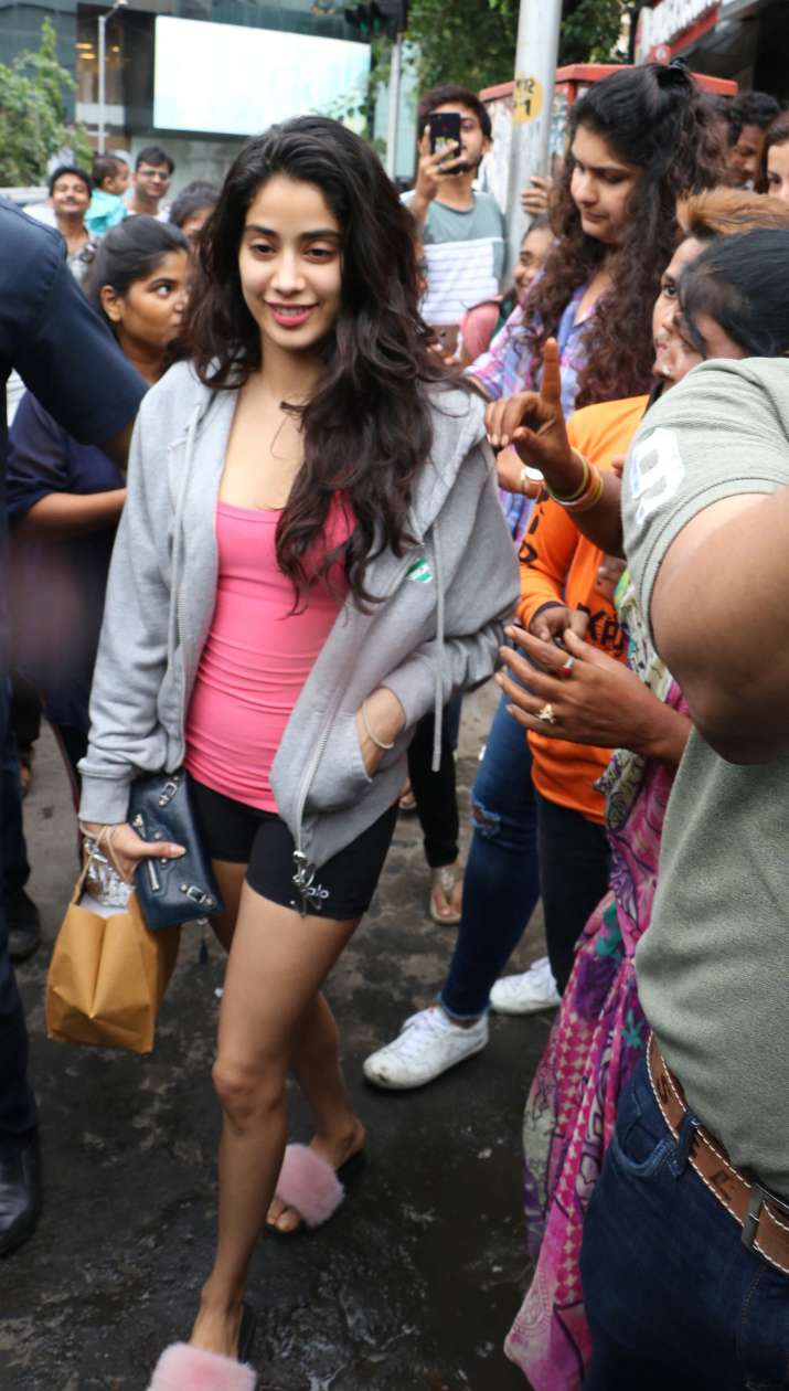 India Tv - Dhadak actress Janhvi Kapoor