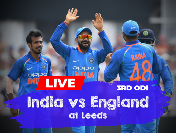 Live Cricket Streaming, India vs England, 3rd and final ...