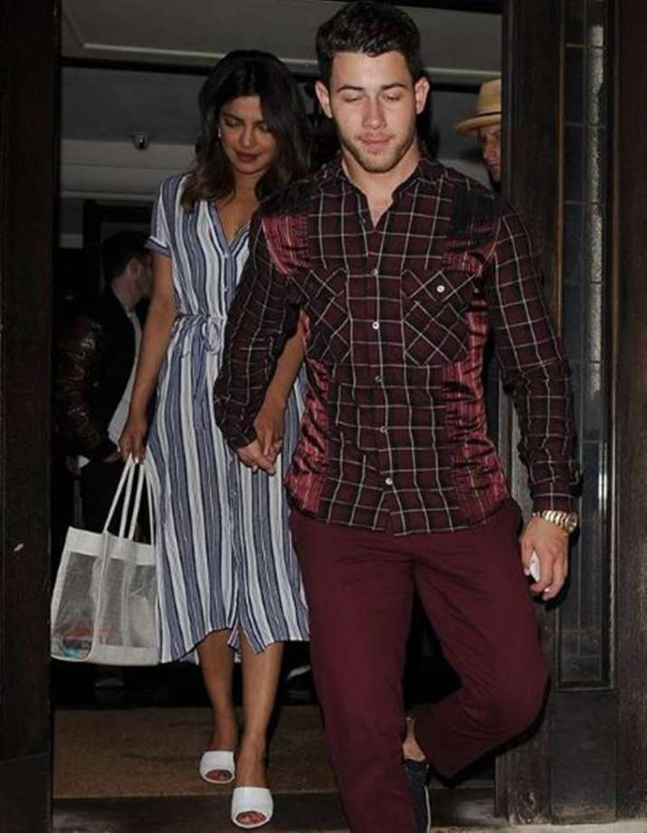 India Tv - Priyanka Chopra with beau Nick Jonas