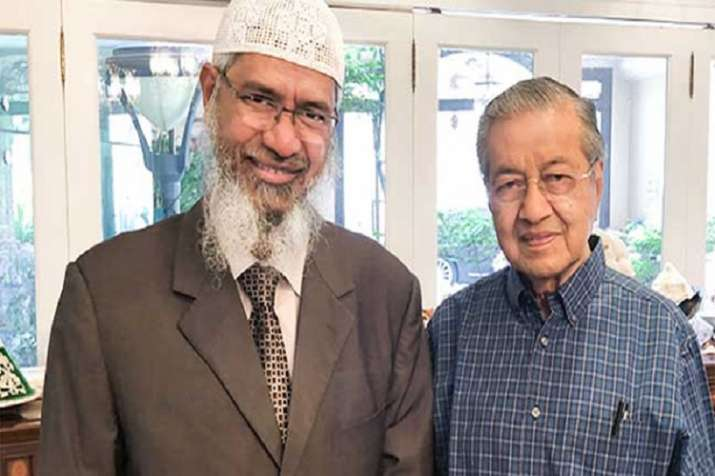 Controversial Islamic preacher Zakir Naik, who is wanted by