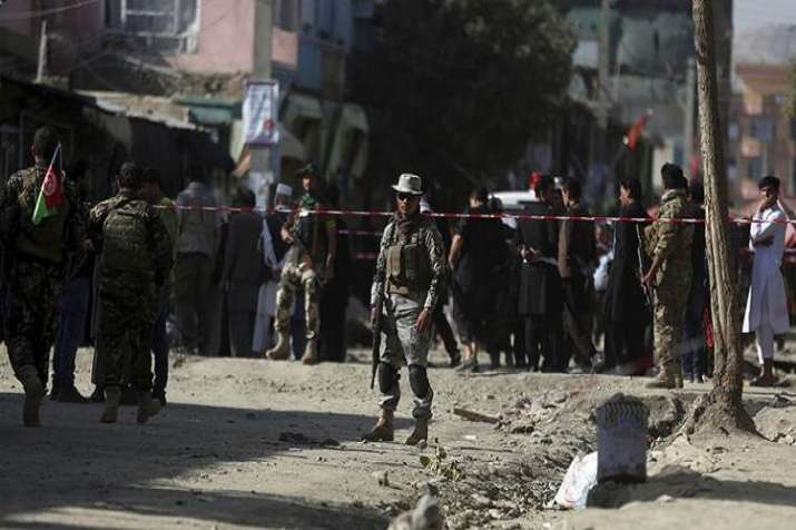 Suicide bombing in Kabul