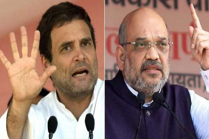 Rahul Gandhi and Amit Shah wil kick off election campaign