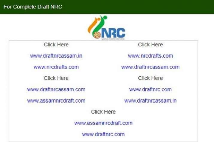 India Tv - Assam NRC Final Draft List 2018