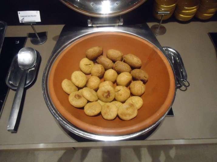 India Tv - Delicious Bati atRajasthani Food Festival