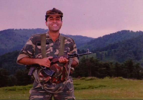 Kargil War hero Captain Vikram Batra.