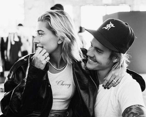 Justin Bieber is head over heels for fiancé Hailey Baldwin.