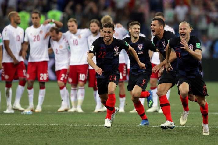 India Tv - Croatia beat Denmark on penalties in round of 16