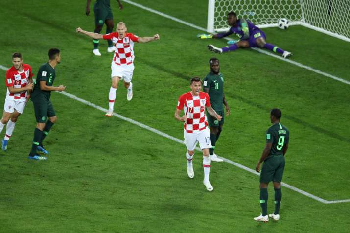 India Tv - Croatia defeated Nigeria 2-0 in the Group Stage