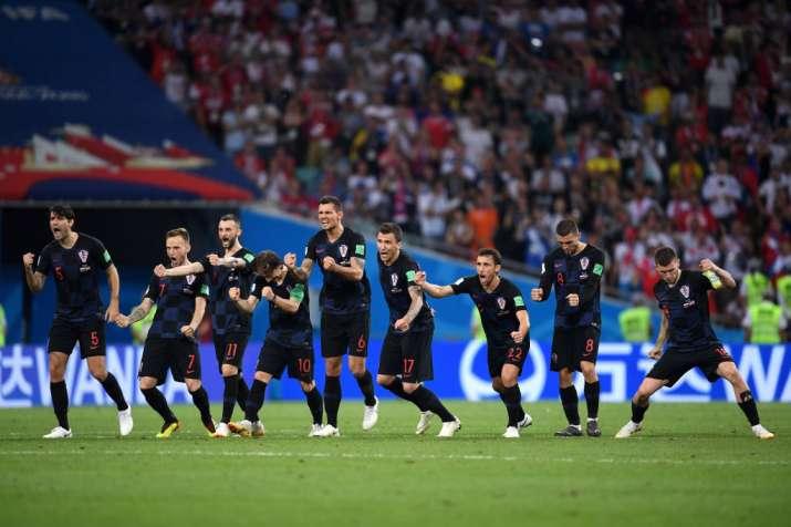 India Tv - Croatia beat Russia in the semis on penalties