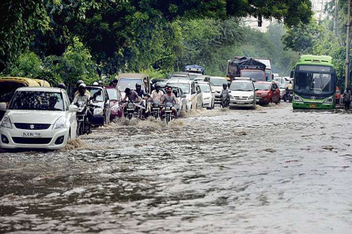 Heavy rain in Delhi-NCR Live Updates