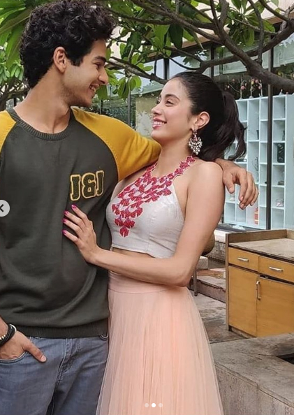 India Tv -  Janhvi Kapoor and Ishaan Khatter