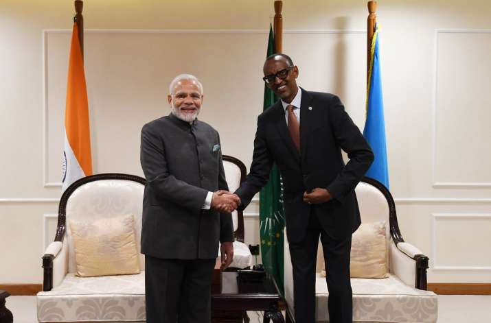 PM Modi reaches Rwanda, witnesses signing of key deals
