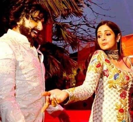 India Tv - Sridevi dancing with Ranveer Singh