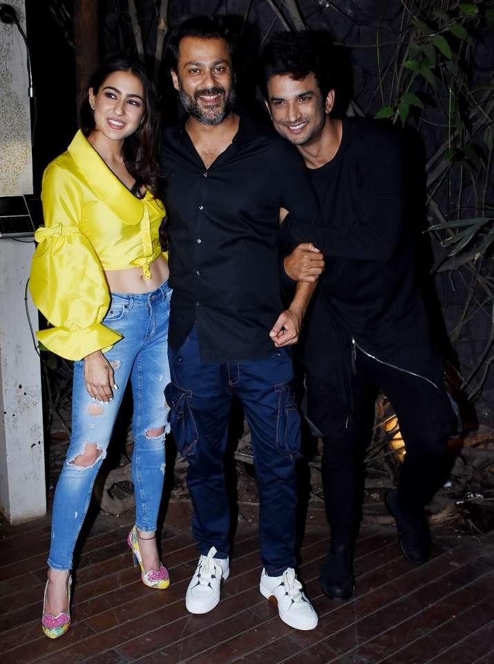 India Tv - Kedarnath Wrap up party