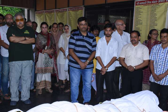 India Tv - Rita Bhaduri funeral