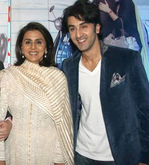India Tv - Neetu Kapoor and Ranbir Kapoor picture