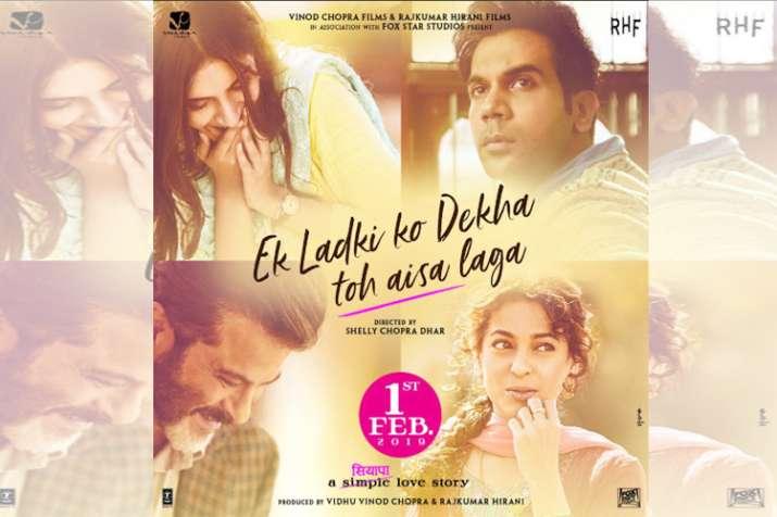 Ek Ladki Ko Dekha Toh Aisa Laga poster