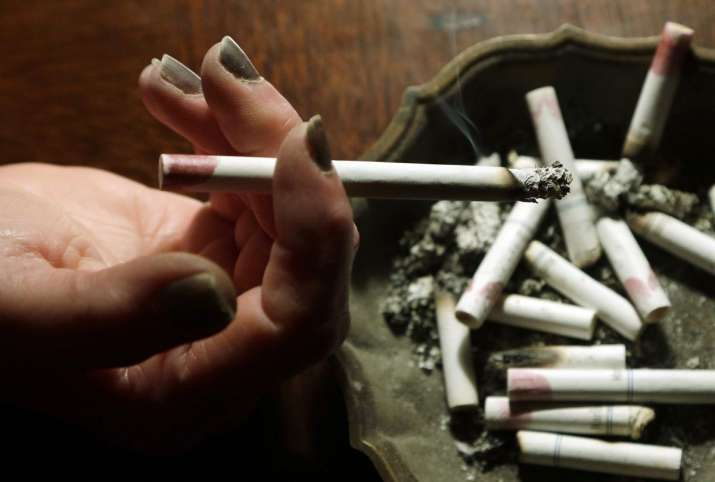 Those exposed to prenatal smoke were almost twice as likely