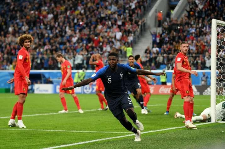 India Tv - France beat Belgium 1-0 in the semifinals