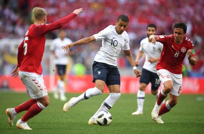 India Tv - France drew Denmark 0-0