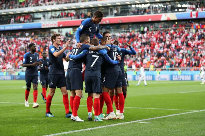 India Tv - France beat Peru 1-0 in the group stage match