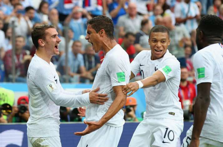 India Tv - France beat Uruguay in the quarters 2-0