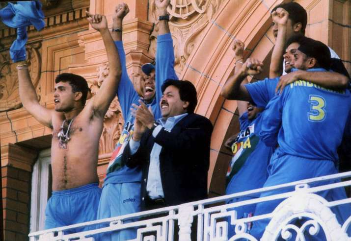 India Tv - Ganguly returned the favour at Lord's