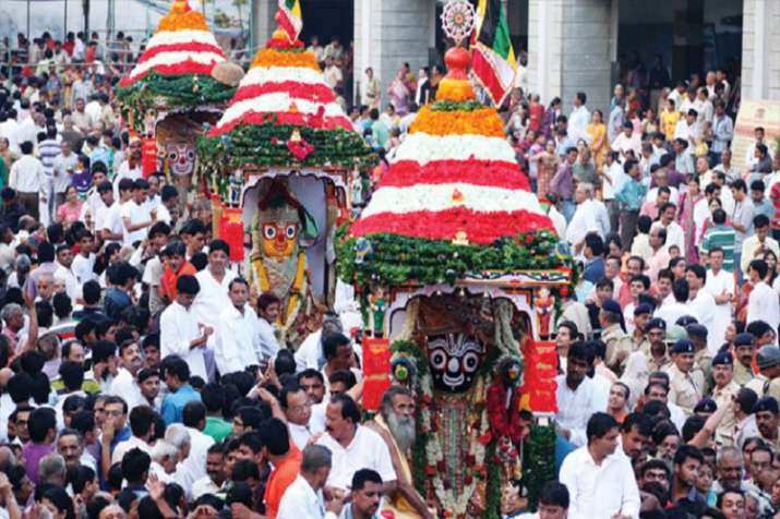 While the Ratha Yatra during Odia Festival in Puri attracts