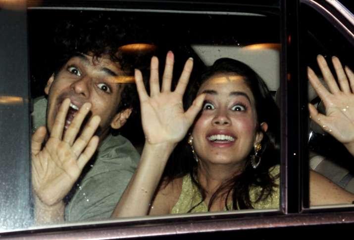 India Tv - Janhvi Kapoor and Ishaan Khatter