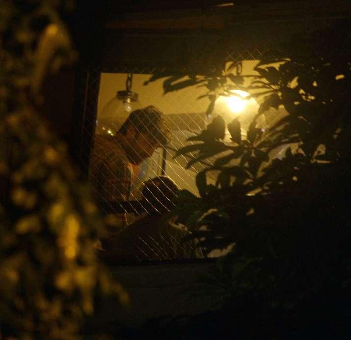 India Tv - Ranbir Kapoor at Alia Bhatt's residence