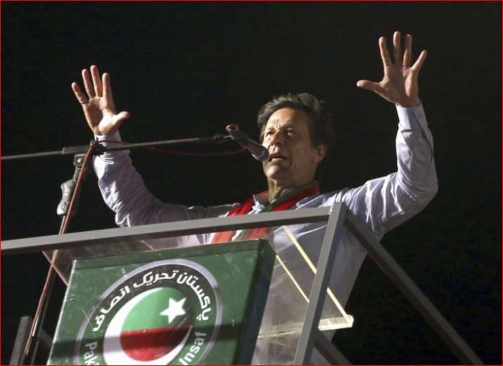 Imran Khan- File pic