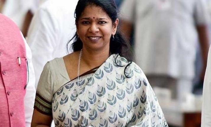 DMK leader Kanimozhi