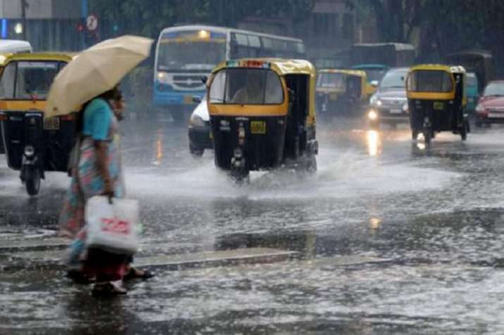 India Tv - Authorities in the rain affected districts have ordered closure of schools depending on the local situation and asked people living near the swollen rivers to move to safer places.