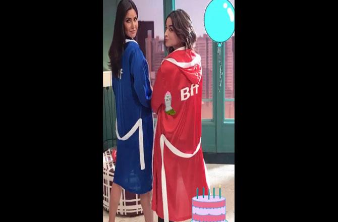 India Tv - Alia Bhatt's birthday wish for Katrina Kaif