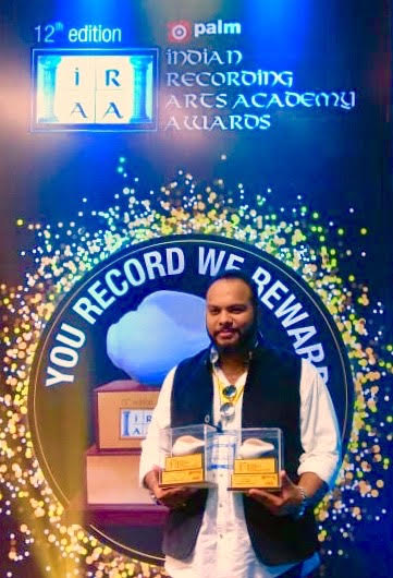 India Tv - Meghdeep Bose at Indian Recording Arts Academy Awards