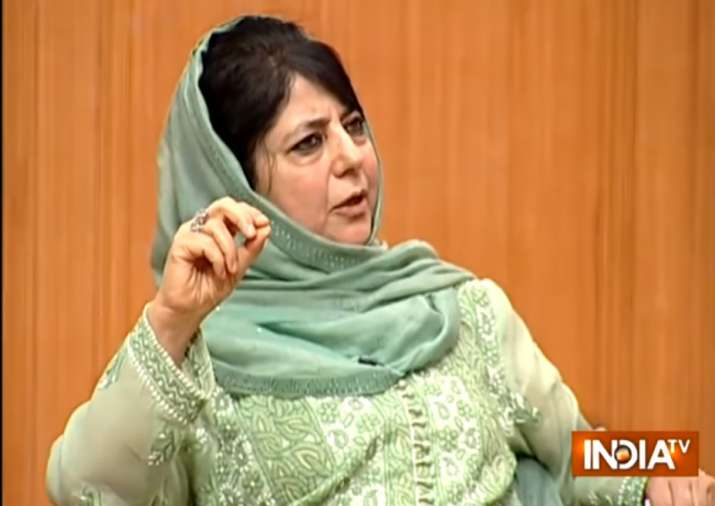 Mehbooba Mufti in Aap ki Adalat: Kashmir should be allowed to join China's CPEC