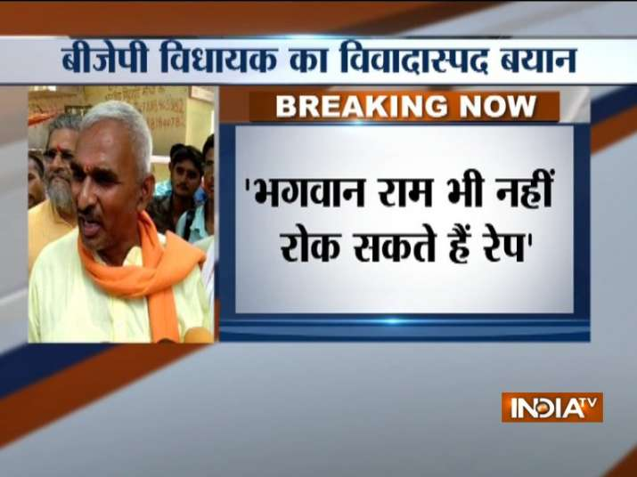 Uttar Pradesh BJP MLA Surendra Singh kicks up controversy,