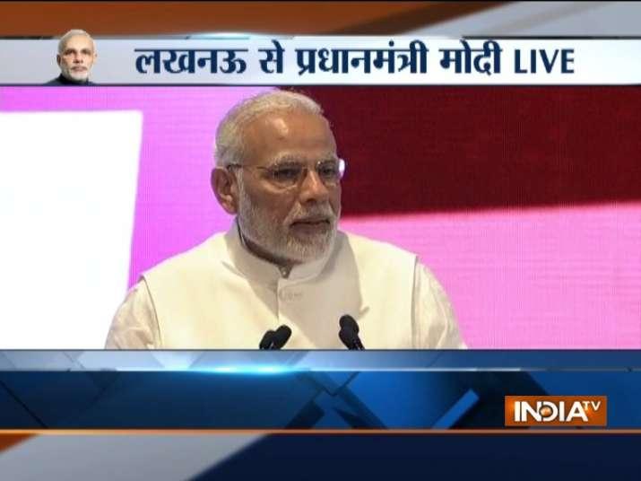 PM Modi in Lucknow LIVE