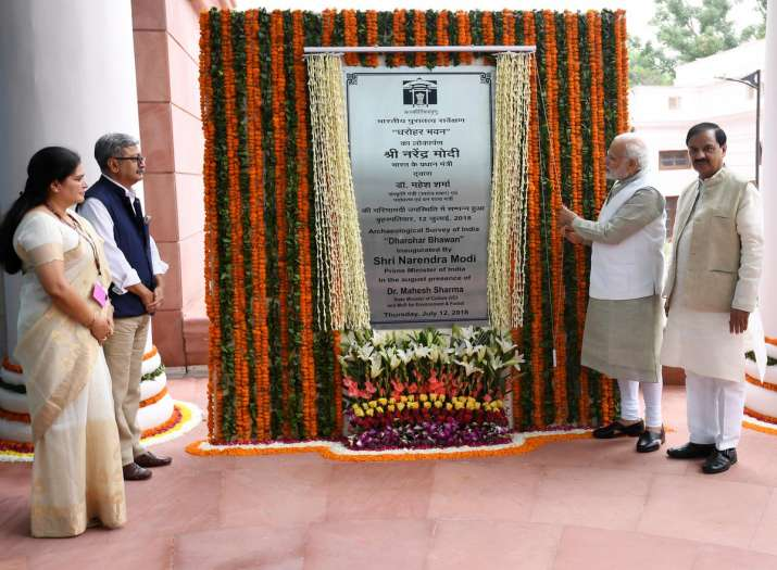 PM Modi inaugurates new ASI headquarters in New Delhi, says