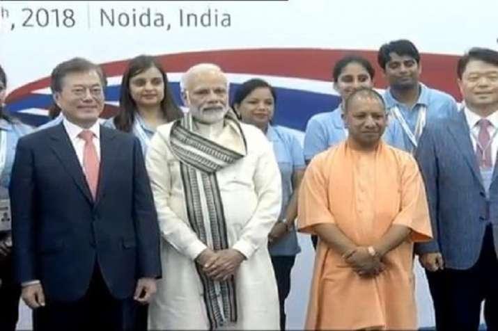 PM Modi to inaugurate Samsung plant in Noida.