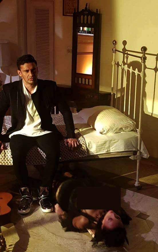India Tv - Sangram Singh in a music video