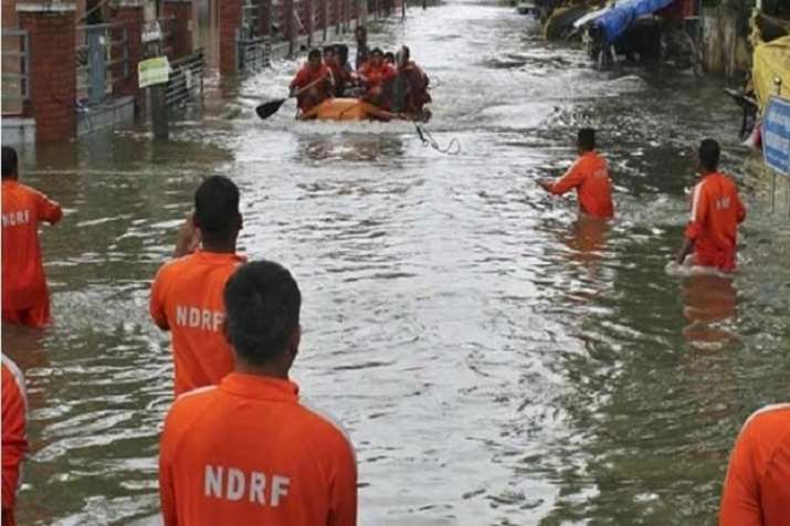 India Tv - The National Disaster Response Force (NDRF) has deployed 97 teams at 71 locations in at least 14 states across the country for rescue and relief operations of flood affected people.