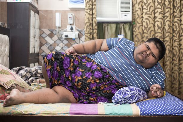 India Tv - World Heaviest Teen Mihir Jain