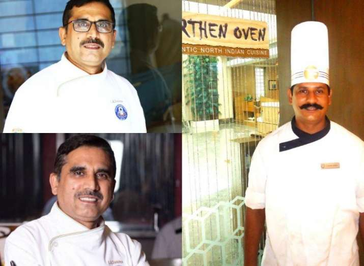 India Tv - The wonder chefs at Rajasthani Food Festival