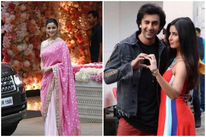 Ranbir Kapoor, Katrina Kaif, Alia Bhatt