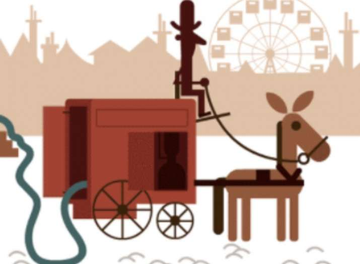 India Tv - Google honours Hubert Cecil Booth with a Doodle