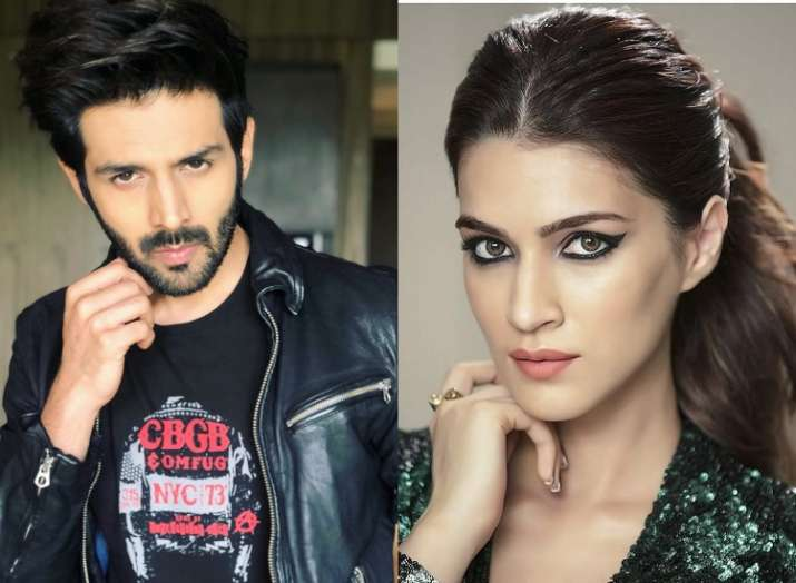 Kartik Aaryan Kriti Sanon Start Preparing For Luka Chuppi