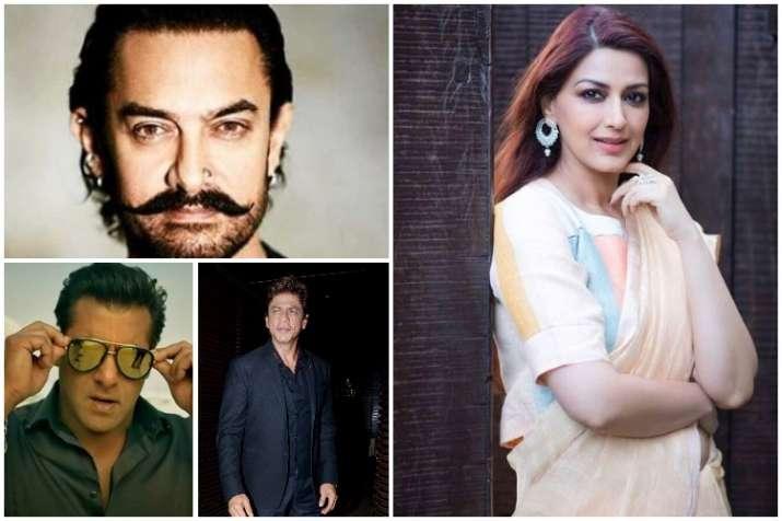 Sonali Bendre, Aamir, Salman, Shah Rukh