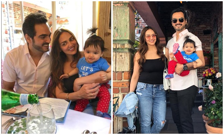 Cuteness Overloaded: Esha Deol shares pictures of daughter